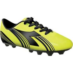 Boys' Diadora Avanti MD JR Yellow Fluorescent