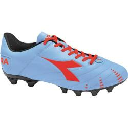 Men's Diadora Evoluzione R MG 14 Powder Blue/Red