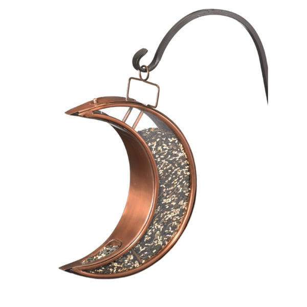 Crescent Moon Bird Feeder