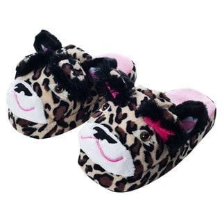 Silly Slippeez Children's 'Lucky Leopard' Slippers
