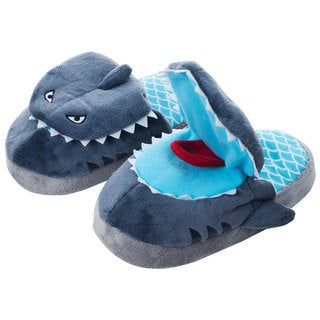 Silly Slippeez Children's 'Sneaky Shark' Slippers