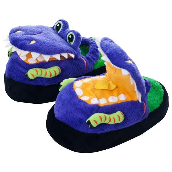 Silly Slippeez Children's 'Dizzy Dinosaur' Slippers