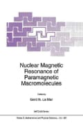 Nuclear Magnetic Resonance of Paramagnetic Macromolecules (Paperback)