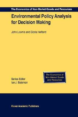 Environmental Policy Analysis for Decision Making (Paperback)