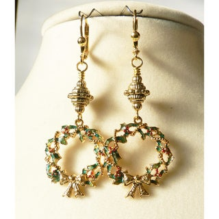 'Wreath' Dangle Earrings