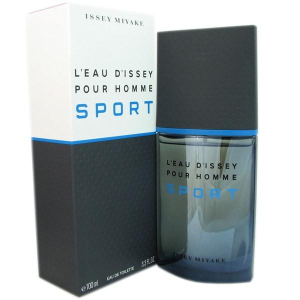 Issey Miyake Leau dIssey Sport Pour Homme Men's 3.3-ounce Eau de Toilette Spray