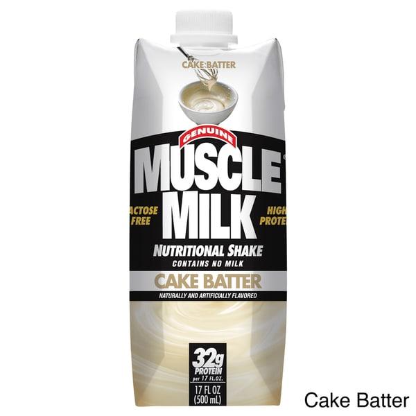 CytoSport Muscle Milk RTD (Case of 12)