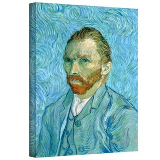 Vincent van Gogh 'Self Portrait' Wrapped Canvas Art