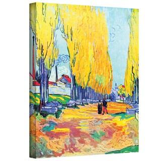Vincent van Gogh 'Les Alyscamps' Wrapped Canvas Art