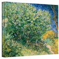 Vincent van Gogh 'Lilacs' Wrapped Canvas Art