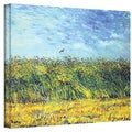 Vincent van Gogh 'Green Wheat Fields' Wrapped Canvas Art