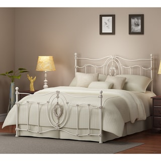 Ashdyn White Queen Bed Overstock Shopping Great Deals