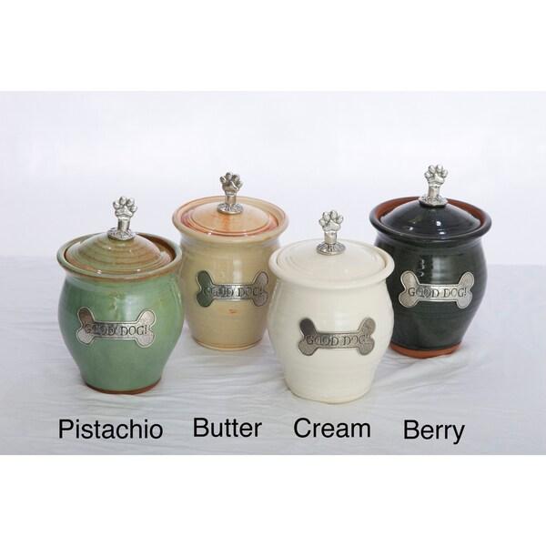 "Phat Tommy ""Good Dog"" Artisans Domestic Dog Treat Jar (Small)"