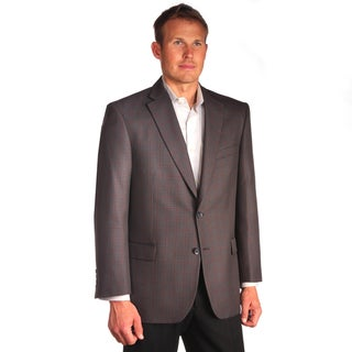 Jean Paul Germain Men's Window Pane Sport Coat