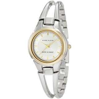 Anne Klein Women's Silver Brass Stainless Steel Watch