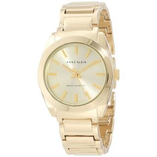 Anne Klein Women's Gold Plastic Watch