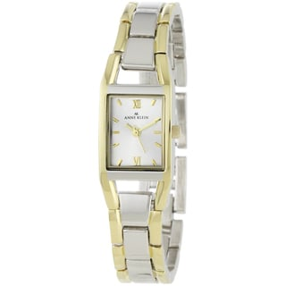Anne Klein Women's Silver Stainless-Steel Mineral Crystal Watch