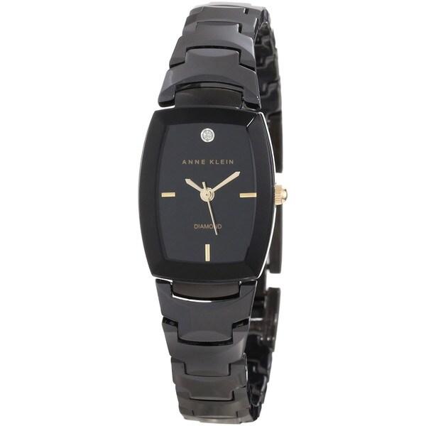 Anne Klein Women's Black Ceramic Watch