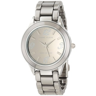 Stainless-steel Anne Klein Women's Ceramic Watch