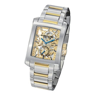 Stuhrling Original Midtown Banker Elite Mechanical Goldtone Stainless-Steel Bracelet Watch
