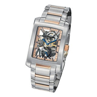 Stuhrling Original Midtown Banker Elite Mechanical Stainless Steel Bracelet Watch