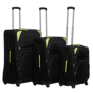 Pierre Cardin 'Somerset' 3 Piece Spinner Luggage Set
