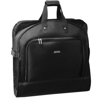 WallyBags 45-inch Bi-fold Garment Bag with Shoulder Strap