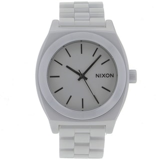 Nixon Women's White Ceramic Watch