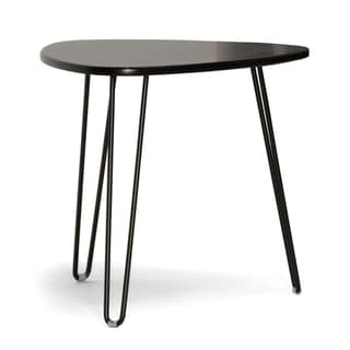 Baxton Studio 'Leto' Dark Brown Modern Accent Table