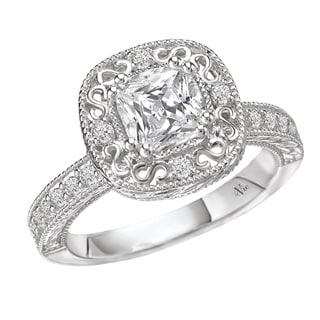 14k Gold 1/4ct TDW Diamond Semi-mount Engagement Ring (G-H, SI1-SI2)