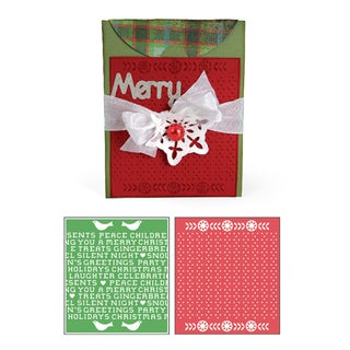 Sizzix Bigz Holiday Cross Stitch Die Cuts