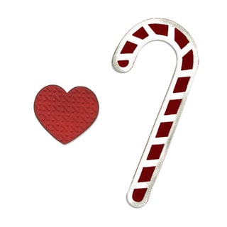 Sizzix Bigz Candy Canes and Heart Die