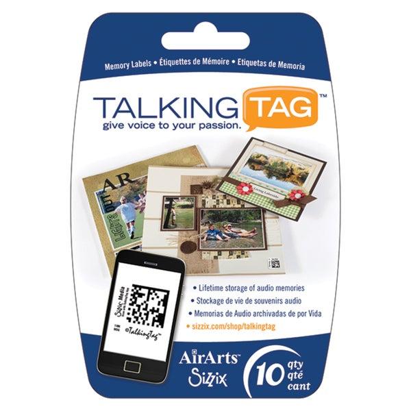 Sizzix TalkingTag Audio Memory Labels (Pack of 10)