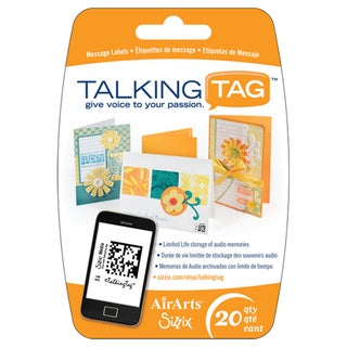 Sizzix TalkingTag Audio Message Labels (Pack of 20)