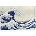 Hokusai 'The Great Wave of Kanagawa' Stretched Canvas