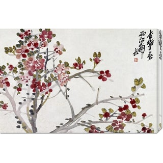Big Canvas Co. Wu Changshuo 'Flowers' Stretched Canvas