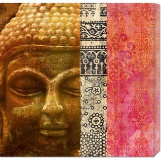 Joannoo 'Siddhartha' Stretched Canvas