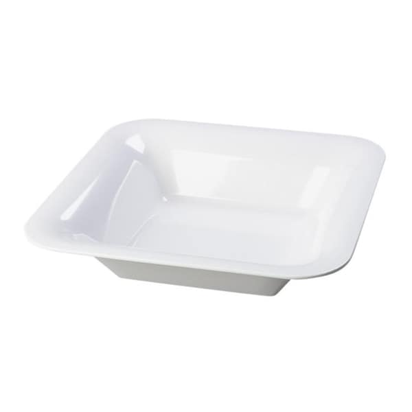 Designer Displayware Square White Bowls (Set of 4)