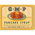 Retrolabel 'G.M.P. Pancake Syrup' Stretched Canvas