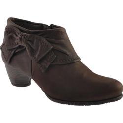 Women's Antia Shoes Abby Mocha Leather