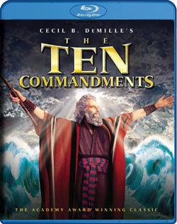 The Ten Commandments (Blu-ray Disc)