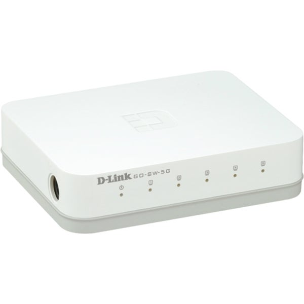D-Link GO-SW-5G 5-Port Gigabit Unmanaged Desktop Switch