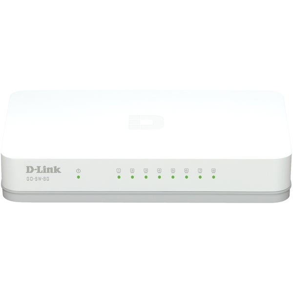 D-Link GO-SW-8G 8-Port Gigabit Unmanaged Desktop Switch