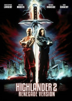 Highlander 2: Renegade Version (DVD)