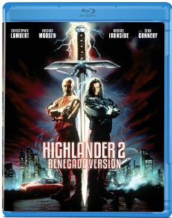 Highlander 2: Renegade Version (Blu-ray Disc)