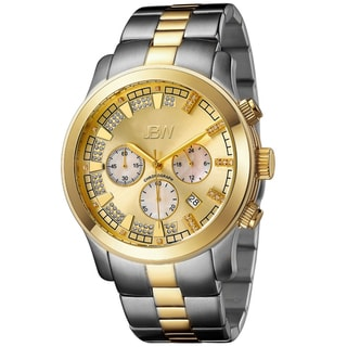 JBW Men's Two-Tone Steel 'Delano' Chronograph Watch