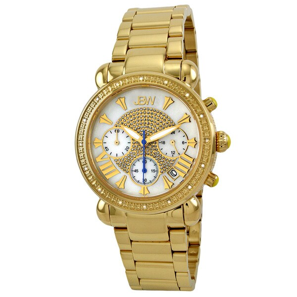 JBW Women's Gold Steel 'Bronx Gold' Diamond Watch 10399077