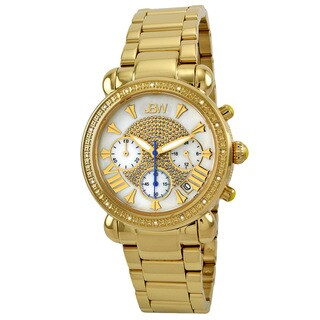 JBW Women's Gold Steel 'Bronx Gold' Diamond Watch