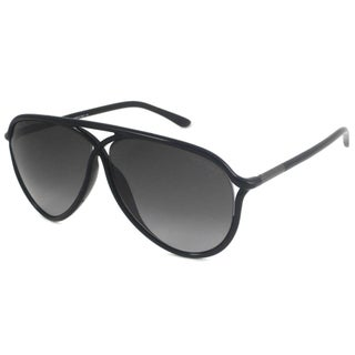 Tom Ford Men's TF0206 Maximillion Plastic Aviator Sunglasses