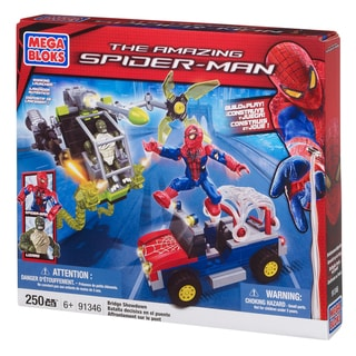 Mega Bloks Spiderman Bridge Showdown Playset